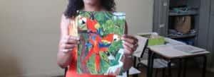 Detalhe desenho de aluna 300x109 - A arte de Ensinar Arte