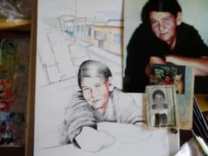 Pintura Zizinha Tiradentes 7 300x225 - Uma homenagem à Zizinha - Ainda finalizando nossa Casa Atelier
