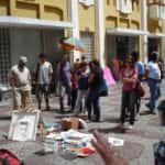 A turma iniciando os trabalhos 150x150 - Confraria de Arte