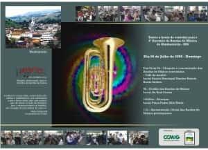 Convite Circuito de Encontro de Bandas Verso - Artes Gráficas