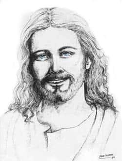 Cristo em nanquim - Artes Plásticas