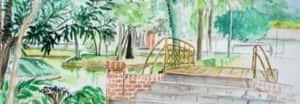 Detalhe Pintura 300x104 - Encontro Mundial de Pintura ao Ar Livre