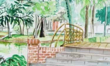 Detalhe Pintura 374x224 - Encontro Mundial de Pintura ao Ar Livre