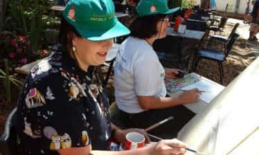 Encontro de Pintura ao Ar Livre 1 374x224 - 16° Encontro Mundial de Pintura ao Ar Livre - 7 de setembro de 2018 em Tiradentes
