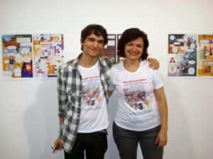Felipe Rocha e Rose Valverde 300x225 - Projeto Bernardo Mascarenhas