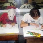 Felipe dos Santos e Lenim Araujo Ribeiro do Valle 150x150 - Desenhos dos Alunos da Oficina de Desenho Artístico 2002 a 2017