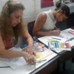 Nilda Fernandes de Albuquerque Leon e Thayane A. R. Barreiros 150x150 - Desenhos dos Alunos da Oficina de Desenho Artístico 2002 a 2017