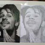 O primeiro retrato 150x150 - Desenhos dos Alunos da Oficina de Desenho Artístico 2002 a 2017