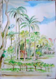 Pintura ao Ar Livre Rose Valverde 11 213x300 - 15° Encontro mundial de pintura ao Ar Livre