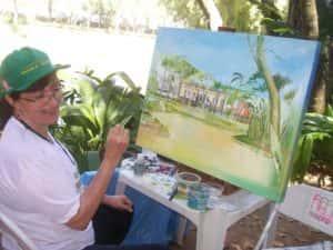 Pintura ao Ar Livre Rose Valverde 13 300x225 - 15° Encontro mundial de pintura ao Ar Livre