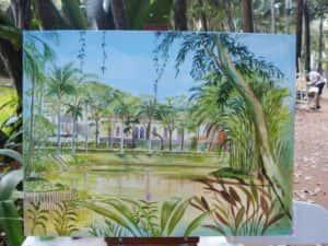 Pintura ao Ar Livre Rose Valverde 14 300x225 - 15° Encontro mundial de pintura ao Ar Livre