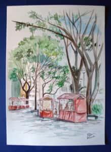 Pintura ao Ar Livre Rose Valverde 17 219x300 - 15° Encontro mundial de pintura ao Ar Livre