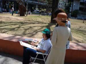 Pintura ao Ar Livre Rose Valverde 18 300x225 - 15° Encontro mundial de pintura ao Ar Livre