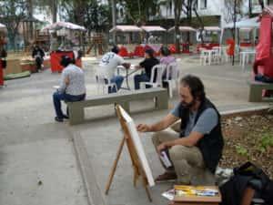 Pintura ao Ar Livre Rose Valverde 19 300x225 - 15° Encontro mundial de pintura ao Ar Livre