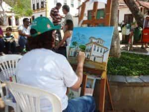 Pintura ao Ar Livre Rose Valverde 22 300x225 - 15° Encontro mundial de pintura ao Ar Livre