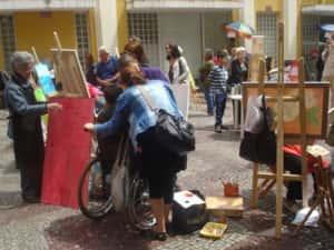 Pintura ao Ar Livre Rose Valverde 3 300x225 - 15° Encontro mundial de pintura ao Ar Livre