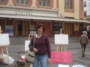 Pintura ao Ar Livre Rose Valverde 4 300x225 - 15° Encontro mundial de pintura ao Ar Livre
