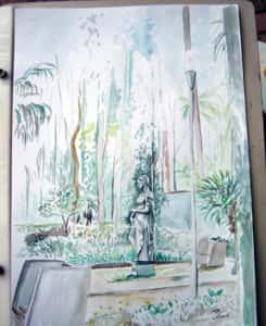 Pintura ao Ar Livre Rose Valverde 7 245x300 - 15° Encontro mundial de pintura ao Ar Livre