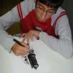 Ramon Desenhando 150x150 - Produções dos Alunos do Curso de Desenho em Quadrinhos