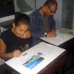 Thayane A. R. Barreiros e Milton Cesario Gomes 150x150 - Desenhos dos Alunos da Oficina de Desenho Artístico 2002 a 2017