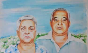 pais do welerson aquarela Rose Valverde 7set2017 30x40 374x224 - Retrato - Pais do Welerson