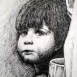 menino nanquim 1978 rose valverde 150x150 - Década de 70 - obras e outras histórias