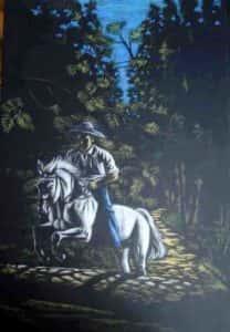 cavaleiro rose valverde 208x300 - Artes Plásticas