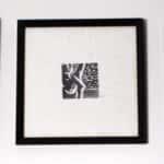 xilogravura papel de arroz rose valverde 150x150 - década de 90 - idas e vindas