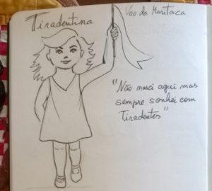 tiradentina 300x270 - Apresentação da personagem Maria Tiradentina no dia do Quadrinho Nacional