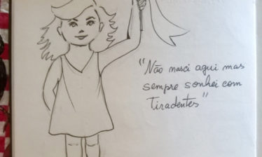 tiradentina 374x224 - Apresentação da personagem Maria Tiradentina no dia do Quadrinho Nacional