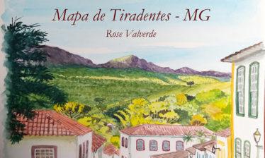tiradentes serra de sao jose 374x224 - Mapa de Tiradentes MG e uma coleção de aquarelas em fine art