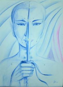rose valverde mistica raio azul 218x300 - Artes Plásticas