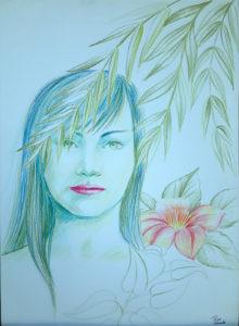 rose valverde mistica raio verde 220x300 - Artes Plásticas